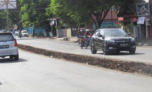Progres Pembangunan Lajur Khusus Ambulans Sementara Berproses di ULP