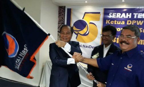 Ramlan Ifran Sebut Pelantikan Max Lomban Sebagai Ketua DPW NasDem Tepat dan Berat