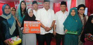 Lantaran Ini, Gubernur OLLY DONDOKAMBEY Mengucapkan Terima-kasih kepada Umat Muslim di Kota Manado