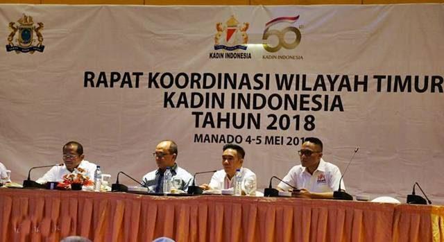 Rakor Wilayah Timur Kadin Indonesia