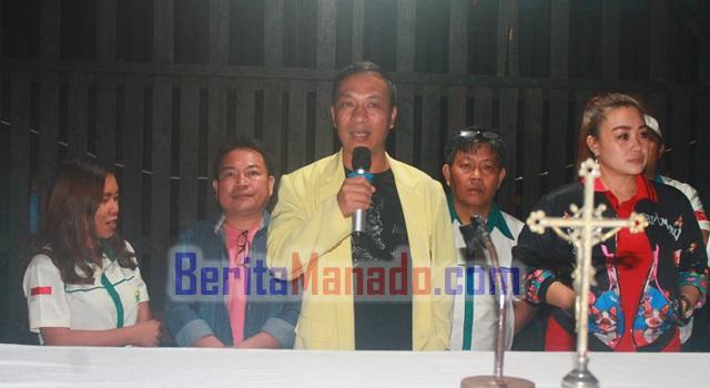 Ketua Pemuda Katolik Komda Sulut Lexi Mantiri SS
