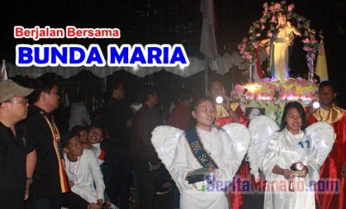 Rally Rosario Keuskupan Manado Sukses Digelar