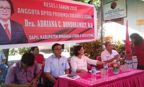Reses di Wori, Calon Penghuni Senayan Ini Terima Banyak Aspirasi