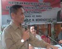 Penerimaan Prajurit TNI dan Polri Terangkat di Reses FERDINAND MEWENGKANG