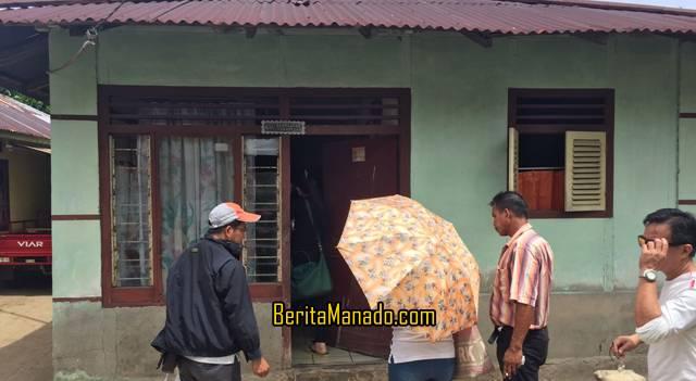 Salah satu rumah warga yang akan direnovasi