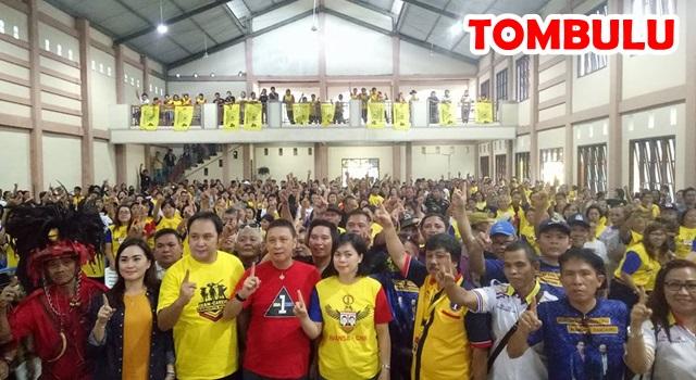 Kampanye Terbatas di Tombulu. (Foto:IST)