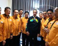Pimpinan DPP Hanura Dialog Khusus Bersama Presiden JOKO WIDODO