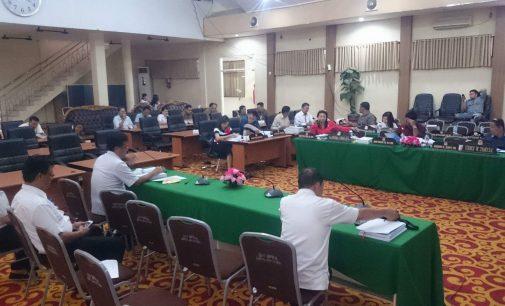 Pansus LKPJ Pertanyakan Kendala PUPR Manado Pada Pembangunan 2017