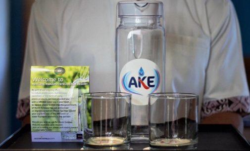 Dukung Program OLLY DONDOKAMBEY-STEVEN KANDOUW, Mercure Manado Tateli Beach Resort Launching Free Plastic Bottle Project