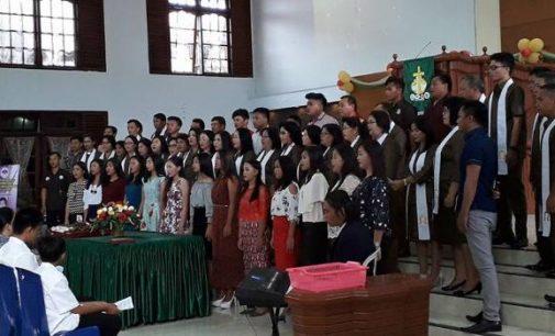 Ini Foto-foto Menarik Ibadah Syukur HUT ke 135 GMIM Alfa Omega Rumengkor
