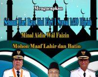 Pemkab Kepulauan Sangihe Mengucapkan Selamat Hari Raya Idul Fitri 1 Syawal 1438 H