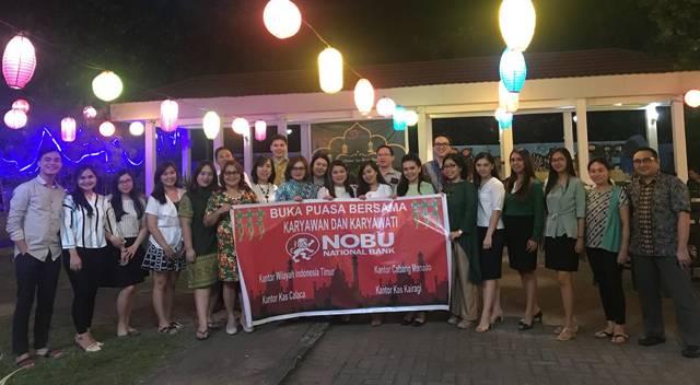 Buka Puasa Bersama Karyawan dan Karyawati Bank NOBU