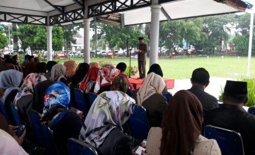 Upacara Harla Pancasila Pemkot Kotamobagu Dipimpin RUDI MOKOGINTA