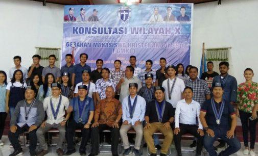Hari Terakhir Bertugas, Pj. Walikota Kotamobagu Pesan Ini di Konsultasi Wilayah X GMKI