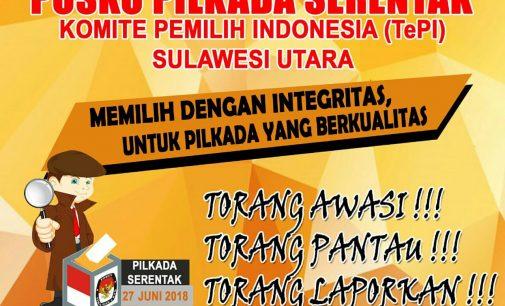 TePI Sulut Bentuk Posko Pengaduan Pilkada Serentak di Sulut