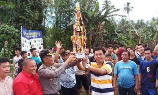 Rihendy Fc Kawangkoan Bawa Pulang Piala Kapolres Minut