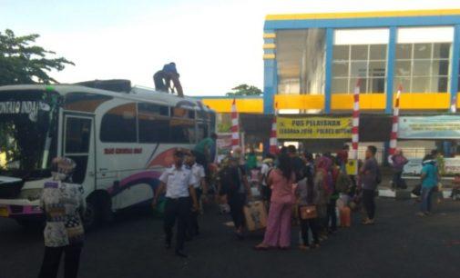 Mudik Lebaran, Lonjakan Penumpang Mulai Terjadi di Terminal Tangkoko