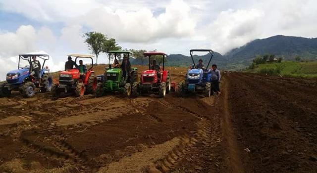 Brigade Alsintan Dinas Pertanian Minsel