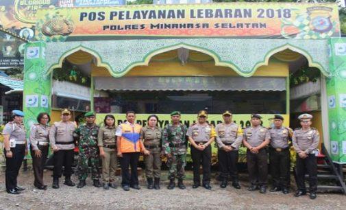 Kapolda Bambang Waskito Apresiasi Pos Yan Lebaran Maruasey