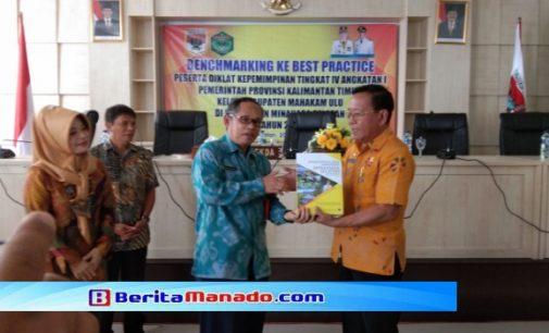 47 Orang Kabupaten Mahakam Ulu Datang Berguru di Kabupaten Minsel