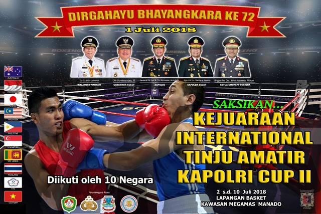 Kejuaraan International Tinju Amatir Kapolri Cup II