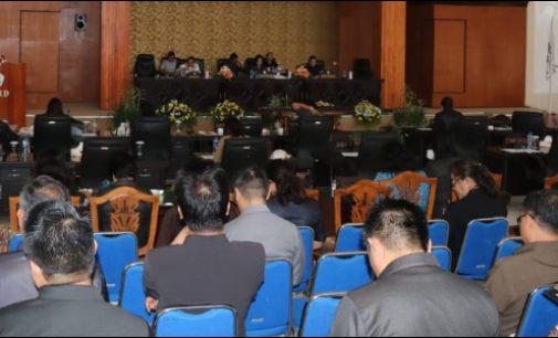 Paripurna Penggantian DPMK, Eman: Wujudkan Cita-cita Pemerintah Daerah
