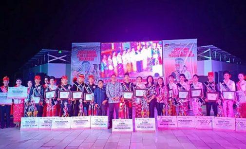 JOSHUA-SHEVANYA Rebut Juara Putera-Puteri Pesona Minahasa 2018