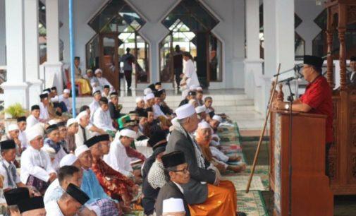 Perayaan Idul Fitri di Minahasa Berjalan Aman