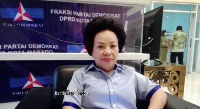 Nortje Van Bone, Ketua Demokrat Manado
