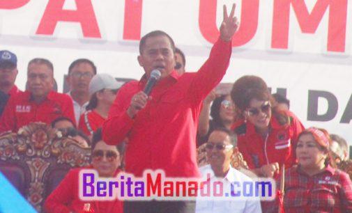 PDIP Menang di Pilkada Minahasa, JANTJE SAJOW Bakal Mulus ke Senayan