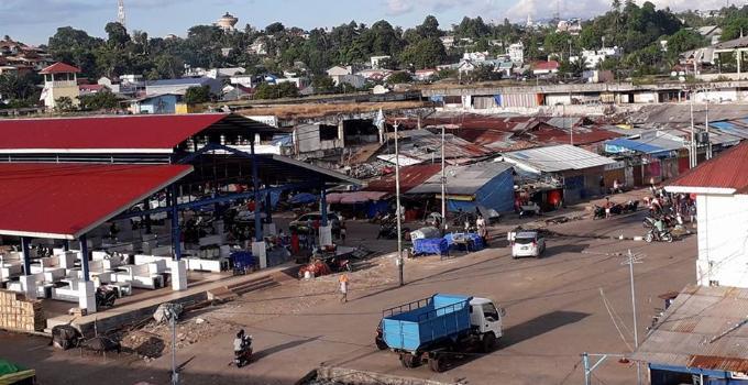 Pasar Bersehati di bawah Jembatan Soekarno telah direhabilitasi