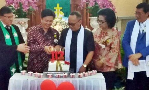 Suka Cita Syukur HUT ke-112 GMiM Kalvari Pineleng