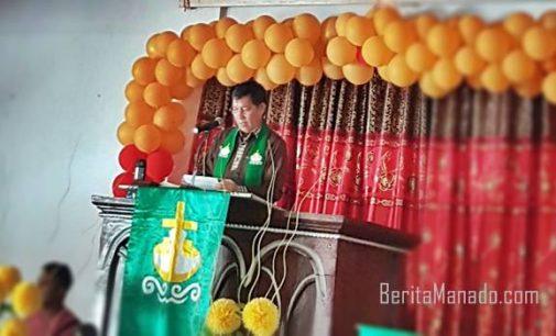 Khadim di GMIM Imanuel Kahuku, VICKY LUMENTUT Ajak Aktualisasikan Komitmen Iman