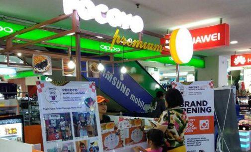 Pocoyo Waffle Sahabat Baru di itCenter Manado