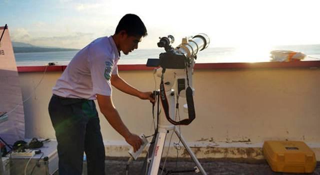 TeleskopHilal Vixen Sphinx SXD-2 - (Sumber Stasiun Geofisika Manado)
