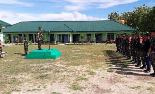 Dandim 1312/Talaud Tegaskan Prajurit Perbatasan Harus Pegang Teguh Netralitas TNI