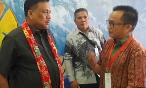 Catatan DINO GOBEL: OLLY DONDOKAMBEY Sukses Buka Gerbang Utara Pasifik
