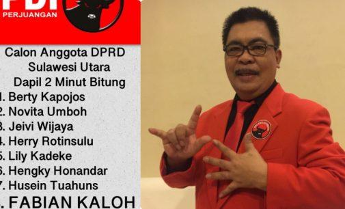 Resmi Jadi Bacaleg PDIP, Ini yang Disampaikan Fabian Kaloh