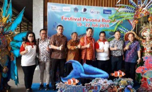 Buka Festival Pesona Bunaken 2018, STEVEN KANDOUW Ingatkan Soal Kebersihan Restoran