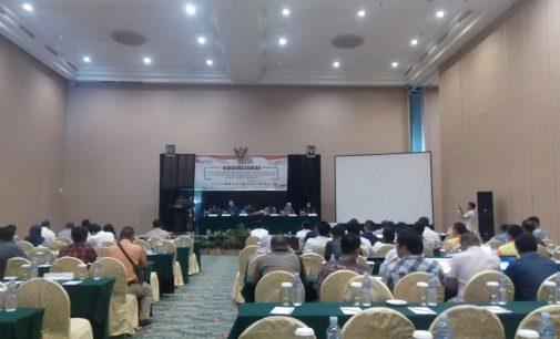 KPU Sosialisasikan Tahapan, Jadwal, Mekanisme dan Syarat Pencalonan Anggota DPD