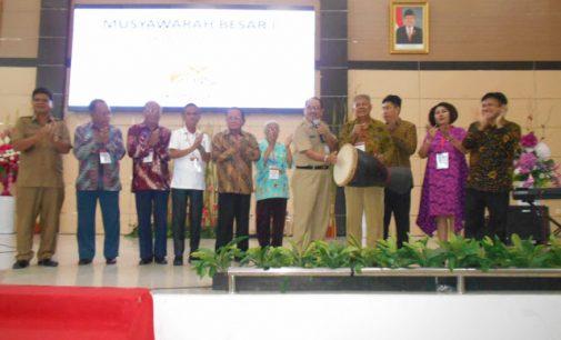 Wakili Gubernur, EDISON HUMIANG Disambut Tarian Gunde dan Tagonggong