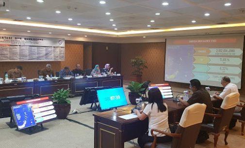 Di Hadapan Tim Penilai, Sekprov EDWIN SILANGEN Presentase Keberhasilan ODSK