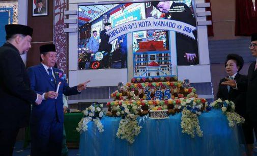 Pimpin Paripurna HUT ke-395, Ini Selayang Pandang Kota Manado oleh NORTJE VAN BONE