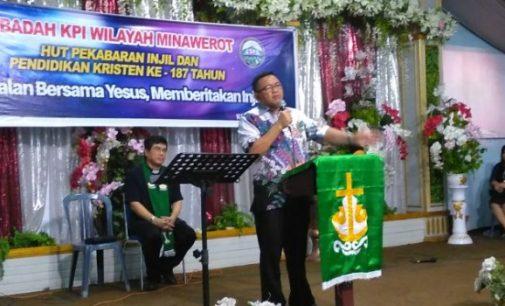 Wabup JOPPI LENGKONG: Pelihara Iman dan Persekutuan Lewat Ibadah KPI
