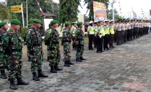 350 Personil Gabungan TNI-Polri Kawal Perayaan Pengucapan Syukur Minsel