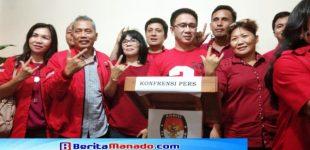 Ada dan Sah !!! Dokumen Bacaleg PDIP Minsel Diterima KPU