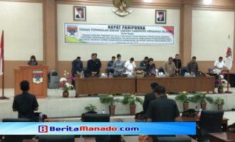 DPRD Minsel Gelar Rapat Paripurna Pertanggungjawaban Pelaksanaan APBD TA 2017
