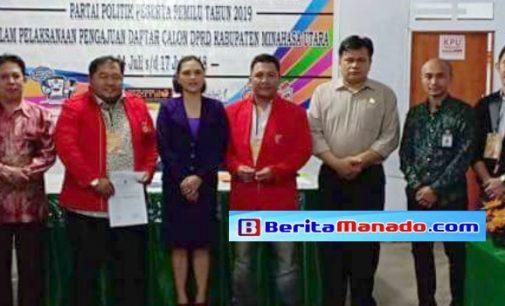 PKPI Minut Siap Menangkan Empat Kursi DPRD. Ini Daftar Para Bacaleg!