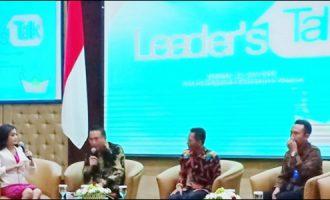 Paparkan Mal Pelayanan Publik, Eman Tampil Memukau di Leader's Talk
