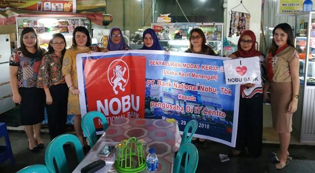 NOBU National Bank Salurkan Bantuan Modal Kerja